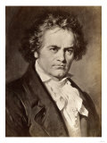 Ludwig Van Beethoven Reproduction procédé giclée