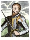 Spanish Conquistador Hernando De Soto Giclee Print