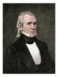 President James K. Polk Giclee Print