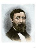 Henry David Thoreau, Giclee Print