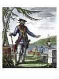 Captain Edward Teach, Commonly Called Blackbeard Giclee Print