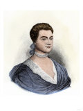 Abigail Adams at Age 22 Giclee Print