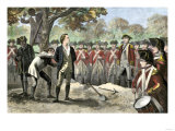 Execution of Patriot Nathan Hale by the British, 1776 Giclee Print