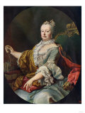 Maria Theresa, Archduchess of Austria and Queen of Hungary and Bohemia Giclee Print
