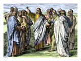 Jesus Addressing the Apostles after the Resurrection Giclee Print