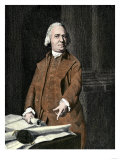 Samuel Adams, Portrait Depicting Adams Pointing to the Massachusetts Charter, Giclee Print, John Singleton Copley