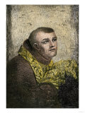Father Junipero Serra, Franciscan Missionary to California, 1700s Giclee Print