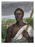 Joseph Cinque, Leader of Amistad Slave Revolt, Giclee Print