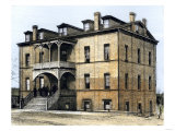 Armstrong Hall, Built by Students at Tuskegee Institute, Alabama, Giclee Print