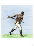 Leonard Parkinson, a Captain of Maroons During a Negro Insurrection in Jamaica, 1700s Giclee Print