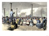 Zion School for Colored Children, Charleston, South Carolina, 1866 Giclee Print