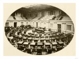 Senate Chamber in the US Capitol, 1890s Giclee Print