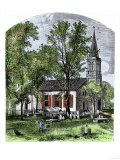 Old St. John's Church in Richmond, Virginia, in the 1800s Giclee Print