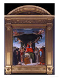 Madonna Del Baldacchino Giclee Print by Lorenzo Lotto