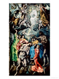 Baptism of Christ Giclee Print by  El Greco