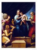 Madonna Del Pesce Reproduction procédé giclée par  Raphael