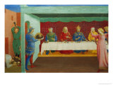 Decollation of the Baptist and Herod's Feast Giclee Print by  Angelico & Strozzi