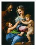 Madonna Della Rosa Reproduction procédé giclée par  Raphael