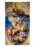 Jupiter Expelling the Vices Giclee Print by Paolo Veronese