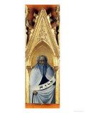 The Prophet Elisha Giclée-tryk af Sassetta