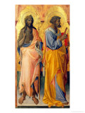 Saints John the Baptist and Peter Giclee Print by Giovanni dal Ponte
