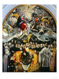 The Burial of the Count of Orgaz Giclee Print by  El Greco