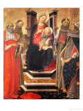 Sacra Conversazione Giclee Print by Francesco Botticini