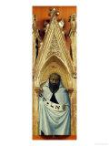 The Prophet Elijah Giclée-tryk af Sassetta