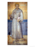 Saint Anthony of Padua and a Devotee Giclee Print by Pietro Perugino