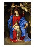 Madonna und der Stuhl Giclée-Druck von Guido Reni