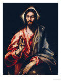 The Savior Giclee Print by  El Greco