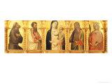Polyptych Giclee Print by Bernardo Daddi