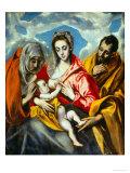Heilige Familie Giclée-Druck von  El Greco