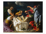 The Deposition of Christ Giclée-tryk af Bartolomeo Schedoni