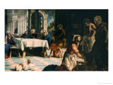 Washing of the Feet Giclee Print by Jacopo Robusti Tintoretto