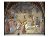 Miracle of the Sacrament Giclee Print by Cosimo Rosselli