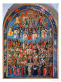 Coronation of the Virgin Giclée-tryk af Cosimo Rosselli