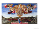 Assumption of the Virgin Giclee Print by Benvenuto Di Giovanni
