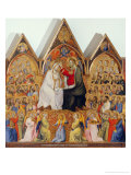 Coronation of the Virgin Gicl&#233;e-Druck von Giovanni Di Niccolo Del Biondo 
