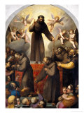 Glory of Saint Francis Giclee Print by Jacopo Ligozzi