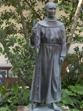 Statue of Father Junipero Serra, Spanish Franciscan Missionary, San Diego Mission Photographic Print