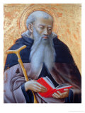 Saint Anthony of Egypt Giclee Print by  Master of the Osservanza