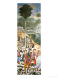 Procession of the Magi: Archers Giclee Print by Benozzo Gozzoli