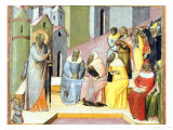 Preaching of Saint Paul Giclee Print by Luca Di Tomme