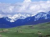 Bridger Mountains, Named for Jim Bridger, Along the Bozeman Pass on the Bozeman Trail, Montana Photographic Print