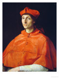 Portrait of a Cardinal Reproduction procédé giclée par Raphael