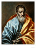 Saint Peter Giclee Print by  El Greco
