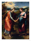Visitation Reproduction procédé giclée par  Raphael