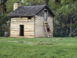 Slave Cabin Birthplace of Booker T. Washington, Burroughs Tobacco Plantation, Virginia Photographic Print