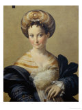 The Turkish Slave Girl Gicleetryck av Parmigianino,
